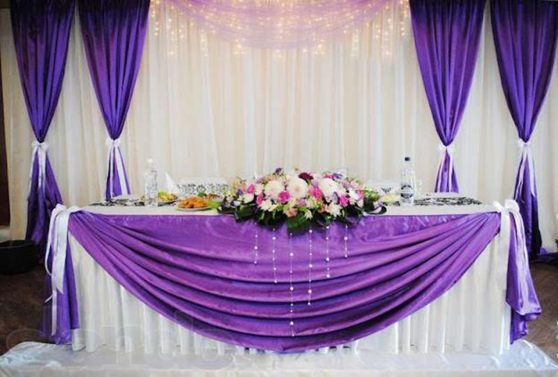 Украшение свадебных залов фото своими руками